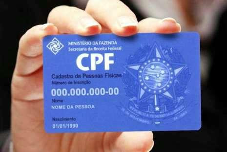 Receita lança serviço de atualização de CPF via internet