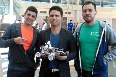 Paraibanos conquistam segundo lugar em competi��o mundial de rob�tica